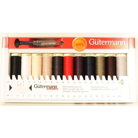 Guterman´s tråd kit + linjal